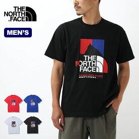 【SALE 25%OFF】ノースフェイス S/S カラコラムレンジTee メンズ THE NORTH FACE S/S Karakoram Range Tee メンズ NT32132 トップス カットソー プルオーバー アウトド Tシャツ 【正規品】mailsa2108