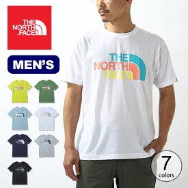 【SALE】ノースフェイス S/S カラフルロゴTee メンズ THE NORTH FACE S/S Colorful Logo Tee NT32134 トップス Tシャツ ショートスリーブ 半袖 アウトドア 【正規品】