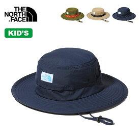 ノースフェイス ホライズンハット【キッズ】 THE NORTH FACE Kids' Horizon Hat NNJ02006 ハット 帽子 子供 キャンプ アウトドア 【正規品】