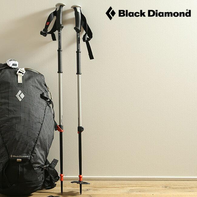 ブラックダイヤモンド トラバースポール Black Diamond TRAVERSE POLES メンズ レディース 【送料無料】 トレッキングポール ポール トレイル オールアルミシャフト 伸縮 収納 バックカントリー スキー BD42008 <2017FW>