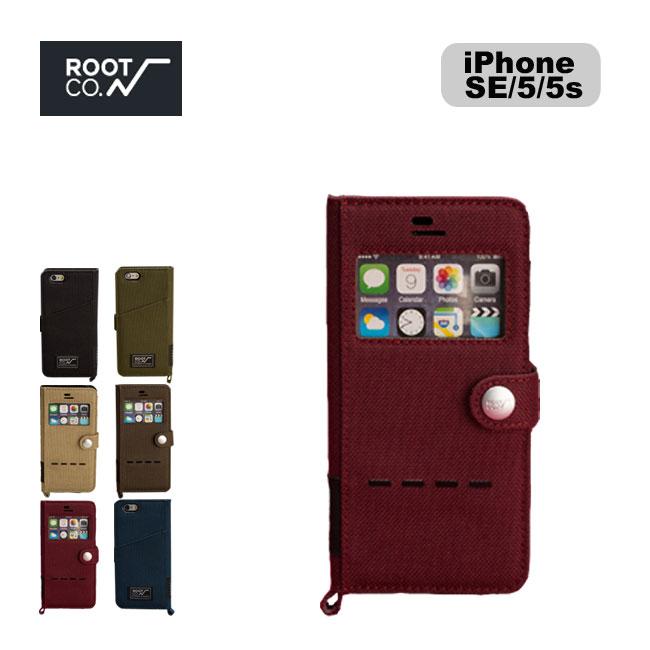 ROOT CO. ルート グラビティショックレジスト ダイアリーケース ウィンドウフリップ(iPhone SE/5s/5専用)【送料無料】 スマホケース スマフォ ケース スマホ用 カバー iPhone アイフォン