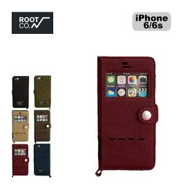 ROOT CO. ルート グラビティショックレジスト ダイアリーケース ウィンドウフリップ(iPhone 6s/6専用)【送料無料】