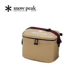 【キャッシュレス 5%還元対象】スノーピーク ソフトクーラー18 snow peak Soft Cooler 18 バッグ クーラーボックス 保温 保冷 アウトドア キャンプ バーベキュー スポーツ 18リットル FP-118 カメラバッグ<2019 春夏>