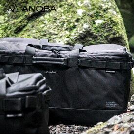アノバ ブラックエディション マルチギアコンテナ ANOBA BLACK EDITION Multi gearcontainer バッグ ボックス ギア入れ キャンプ アウトドア フェス 【正規品】