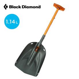 ブラックダイヤモンド ディプロイ3 Black Diamond DEPLOY 3 ディプロイ ショベル スコップ 雪山 雪崩対策 救助 雪洞 掘削 コンパクト 収納 アルミ製 Tグリップ BD43011 <2018 秋冬>