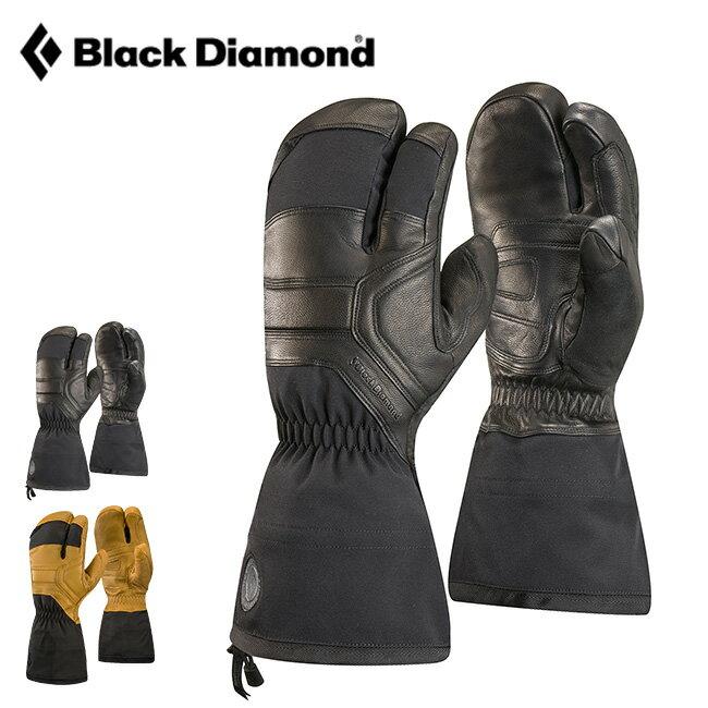 ブラックダイヤモンド ガイド フィンガー Black Diamond GUIDE FINGER メンズ レディース グローブ 手袋 ミトン 二股 ストレッチ レザー スキー BD75060 <2018 秋冬>