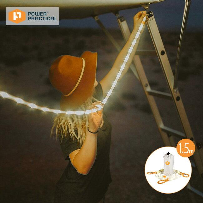 Luminoodle ルミヌードル 5ft Luminoodle LED ライト あかり ランタン ロープ 紐 充電 防災 緊急時 防水