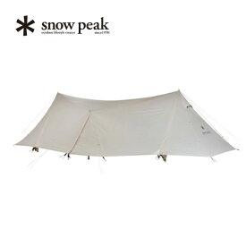 スノーピーク ランドステーションL アイボリー snow peak Land Station L Ivory テント シェルター アウトドア キャンプ 宿泊 6人~8人用 TP-821IV <2019 春夏>