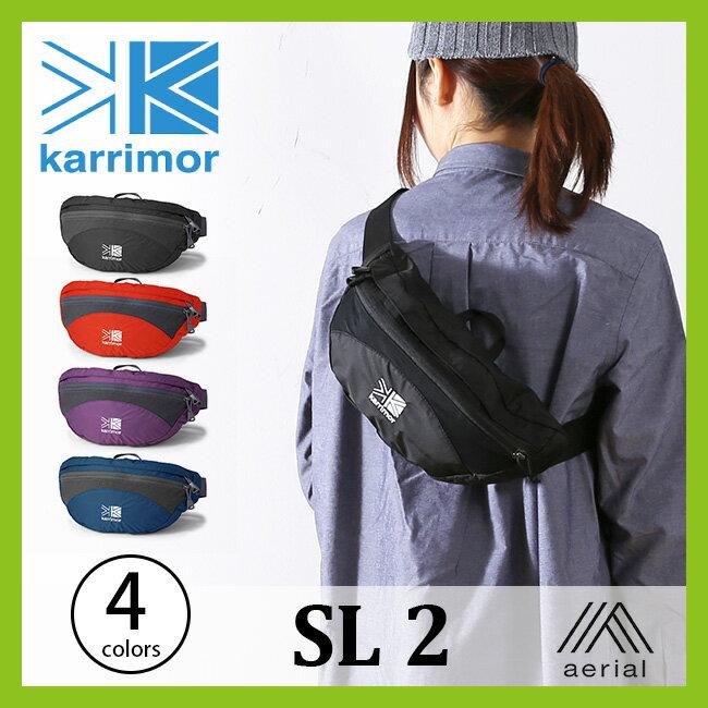 karrimor カリマー SL 2 メンズ レディース 【送料無料】 ウエストバッグ ヒップバッグ ウエストポーチ ボディバッグ ポーチ 軽量 コンパクト トレッキング トレイルランニング 男女兼用 2L