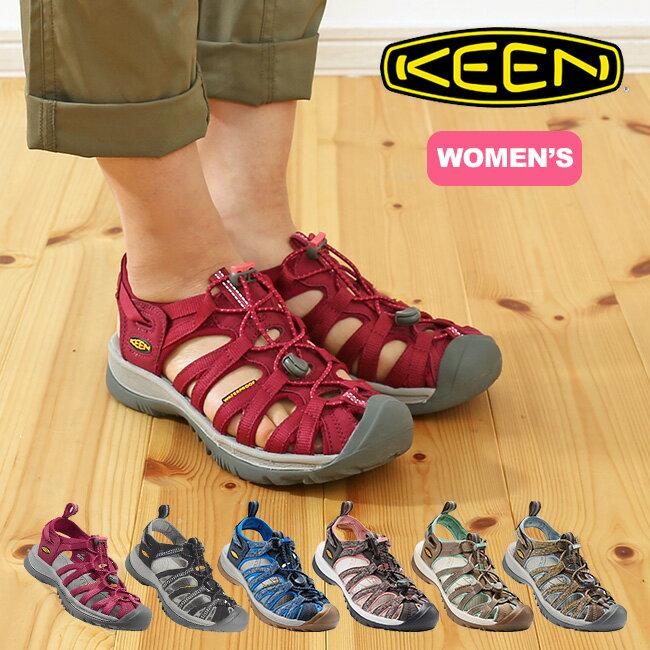 【40%OFF】KEEN キーン ウィスパー【ウィメンズ】 【送料無料】 サンダル 靴 レディース 女性 キャンプ フェス 旅行 レジャー 野外 アウトドア