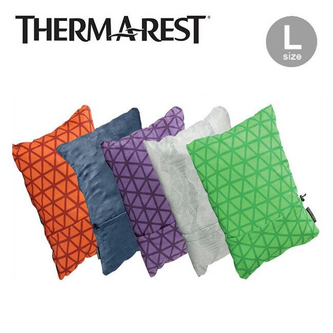 サーマレスト コンプレッシブルピロー L【正規品】THERM-A-REST 枕 圧縮収納 キャンプ Compressible Pillow L