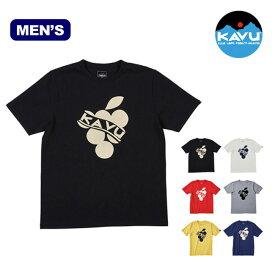 【キャッシュレス 5%還元対象】カブー グレープTee KAVU Grape Tee メンズ Tシャツ トップス 半袖 19820418 <2019 春夏>