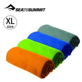 シートゥサミット ドライライトタオル XL SEA TO SUMMIT Drylite Towel ST82725 タオル 速乾性 マイクロファイバー 吸水速乾性 軽量 旅行 バスタオル ビーチタオル コンパクト キャンプ アウトドア フェス【正規品】