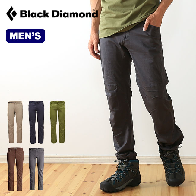 ブラックダイヤモンド クレードパンツ Black Diamond CREDO PANTS メンズ 【送料無料】 クレード パンツ ロングパンツ ロング ストレッチ オーガニックコットン 耐久 上部 クライミング BD67054 <2017FW>