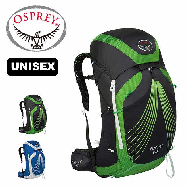 OSPREY オスプレー エクソス 38 ユニセックス 【送料無料】 リュックサック バックパック ザック 登山 ハイキング 旅行 アウトドア 男女兼用