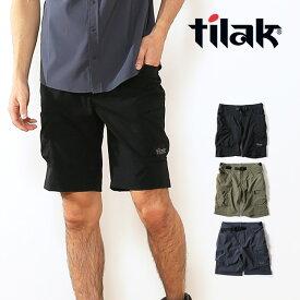 ティラック クラックLTショーツ 2.0 tilak CRUX LT Shorts 2.0 パンツ ショートパンツ ハーフパンツ 短パン アウトドア フェス 旅行 メンズ 男性 <2019 春夏>