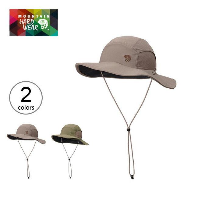 【50%OFF】マウンテンハードウェア Mountain Hardwear チラーワイドブリムハット2 メンズ レディース ハット 帽子 防水 UVカット 紫外線対策 UPF25 涼感 収納 折りたたみ コンパクト OM6058