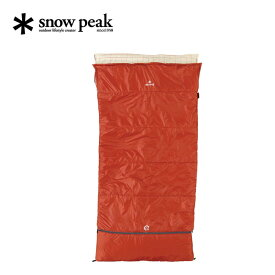 スノーピーク セパレートシュラフ オフトンワイド snow peak 寝袋 BD-103 <2019 春夏>
