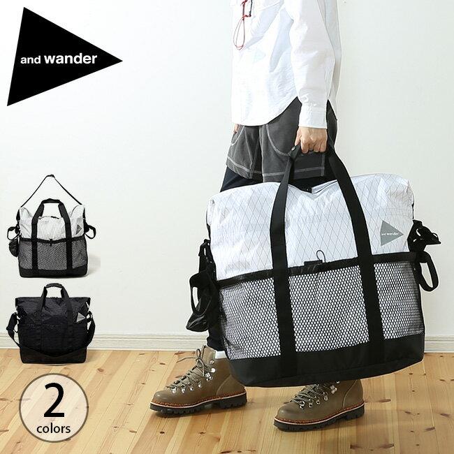 アンドワンダー Xパック 45L トートバック and wander X-Pac 45L tote bag 鞄 バック トートバッグ トート 手提げバッグ <2018 秋冬>