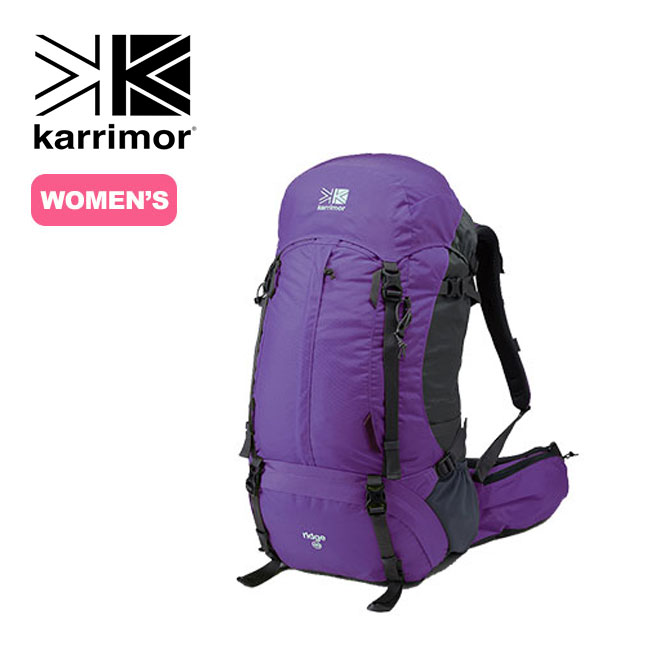 カリマー リッジ40タイプ1 【送料無料】 karrimor ridge 40 type1 リュックサック リュック ザック バックパック 40L 40リットル 登山 トレッキング 女性用 バックレングス 42cm 17FW