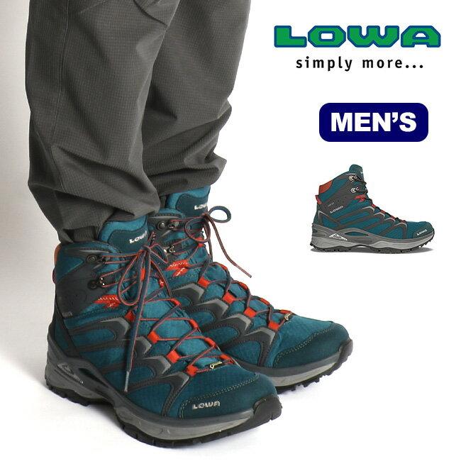 ローバー LOWA イノックス ゴアテックス ミッド 【送料無料】 靴 登山靴 トレッキングシューズ ブーツ 防水 透湿 GTX トレッキング ハイキング メンズ 男性