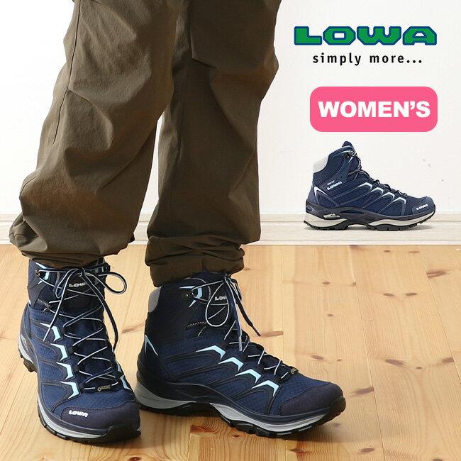 ローバー LOWA イノックス ゴアテックス ミッド 【レディース】 【送料無料】 靴 登山靴 トレッキングシューズ ブーツ 防水 透湿 GTX トレッキング ハイキング レディース ウィメンズ 女性