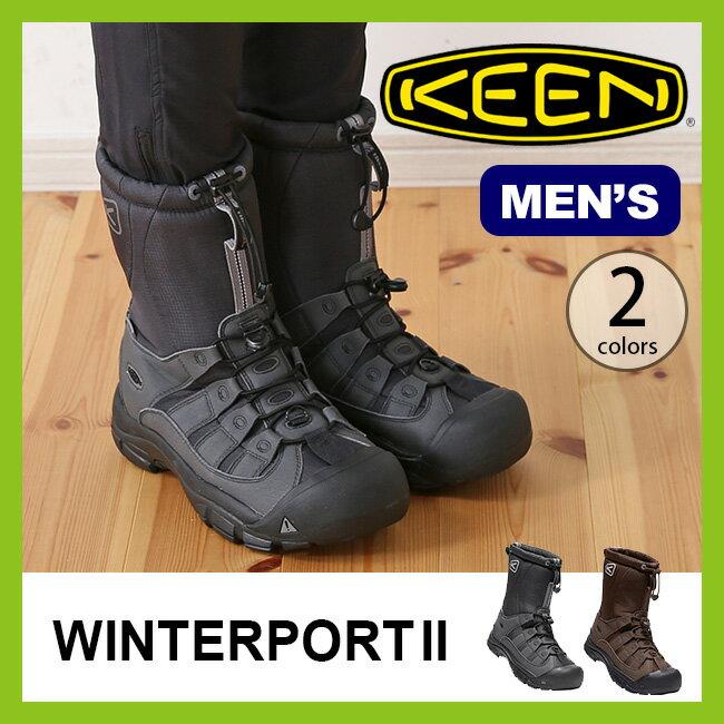 【30%OFF】キーン ウィンターポート2 メンズ KEEN MEN'S WINTERPORT II 【送料無料】 男性 ブーツ 防水 抗菌 ウインターブーツ 17FW