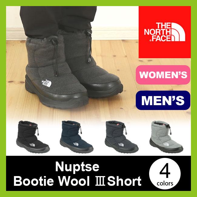 <残りわずか!>【15%OFF】ノースフェイス ヌプシブーティー ウール3ショート THE NORTH FACE Nuptse Bootie Wool Short ユニセック【送料無料】 ブーツ <2017FW>