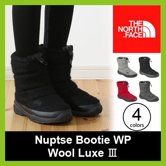 【15%OFF】ノースフェイス ヌプシブーティー WP ウールラックス3 THE NORTH FACE Nuptse Bootie WP Wool  Luxe メンズ レディース ウィメンズ 【送料無料】 靴 ブーツ