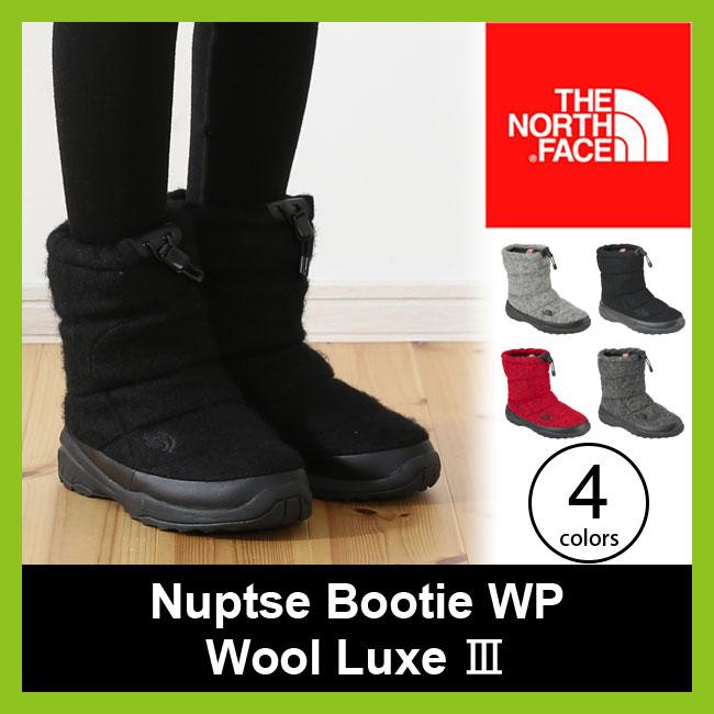【10%OFF】ノースフェイス ヌプシブーティー WP ウールラックス3 THE NORTH FACE Nuptse Bootie WP Wool Luxe メンズ レディース ウィメンズ 【送料無料】 靴 ブーツ スノーブーツ ウィンターブーツ <2017FW>