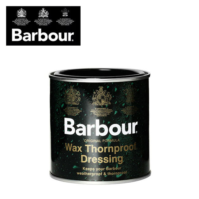 バブアー ソーンプルーフドレッシング BARBOUR Wax Thornproof Dressing アウトドア ケア用品 お手入れ メンテナンス ワックス オイルドコットン 防水性 メンズ 男性 2500