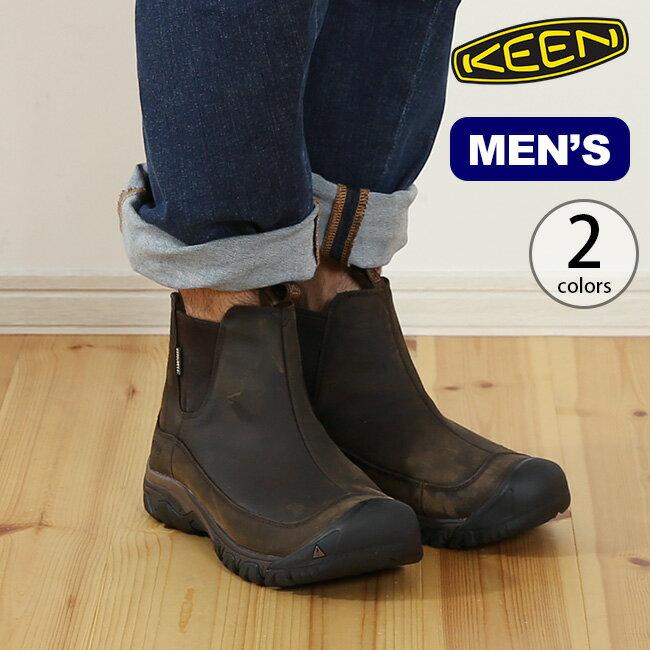 キーン アンカレッジブーツ3 ウォータープルーフ メンズ KEEN ANCHORAGE III WATERPROOF BOOT 靴 ブーツ ウィンターブーツ ショートブーツ サイドゴア <2018 秋冬>