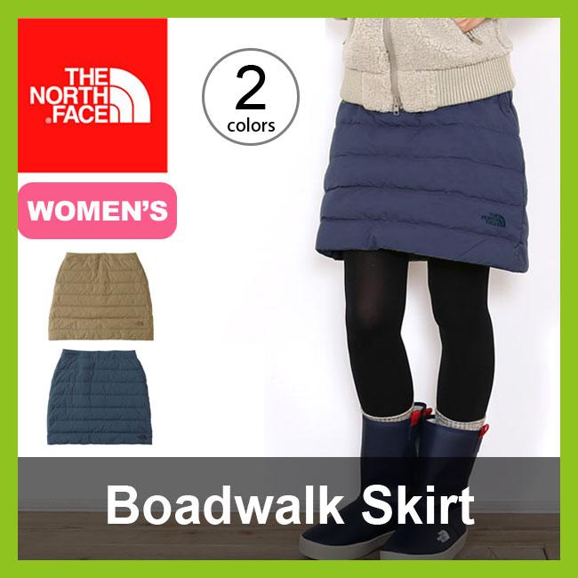 <残りわずか!>【10%OFF】ノースフェイス ボードウォークスカート【ウィメンズ】 THE NORTH FACE Boardwalk Skirt レディース 【送料無料】 ダウンスカート <2017FW>