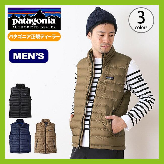 パタゴニア メンズ ダウンセーターベスト patagonia down sweater vest 【送料無料】 ベスト ダウンベスト ダウン シェル 軽量 防風 耐久 撥水 収納 パッカブル シンプル 保温 防寒 インサレーション ミドルレイヤー 84622 17FW