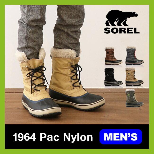 【10%OFF】ソレル 1964 パックナイロン SOREL 1964 Pac Nylon メンズ 【送料無料】 靴 ブーツ ウィンターブーツ スノーブーツ フェルトインナーブーツ インナーブーツ 丈夫 ナイロン カジュアル NM1440 <2017FW>