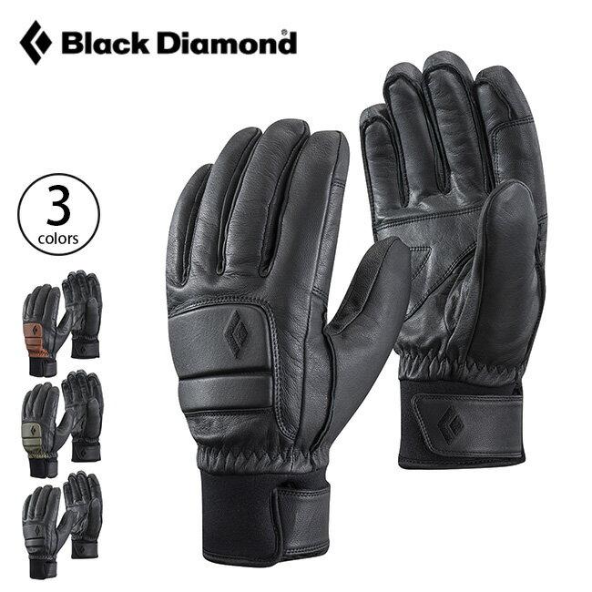ブラックダイヤモンド スパーク Black Diamond SPARK メンズ グローブ 手袋 レザーグローブ レザー フリースライニング 保温 防寒 防水透湿 スキー スノボ BD75184 <2018 秋冬>