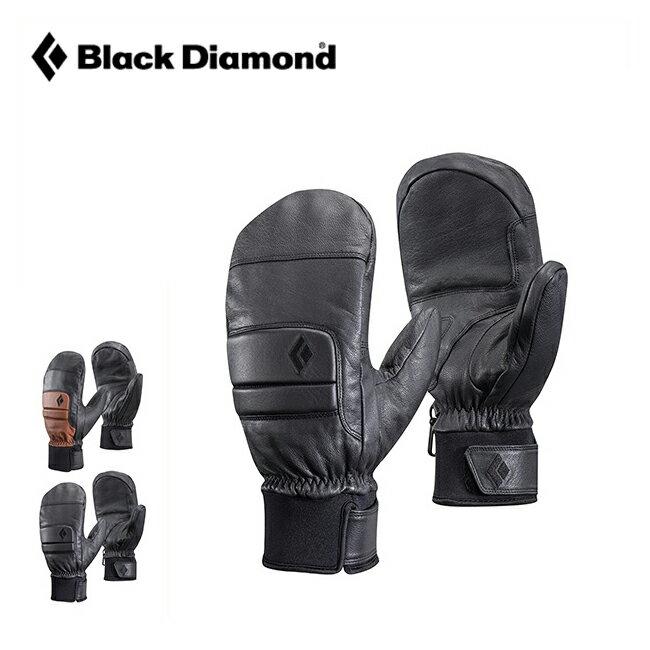 ブラックダイヤモンド スパークミット Black Diamond SPARK MITTS メンズ グローブ 手袋 二股 ミット ミトン レザー 5本指 スプリット フィンガータイプ <2018 秋冬>