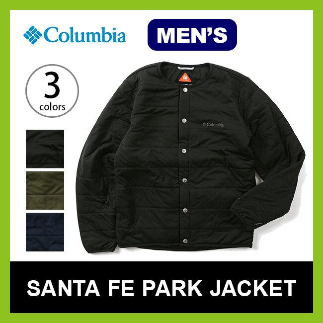 【30%OFF】コロンビア サンタフェパークジャケット Columbia SANTAFE PARK JACKET メンズ 【送料無料】 トップス 長袖 ジャケット 上着 アウター インサレーション 中間着 17FW