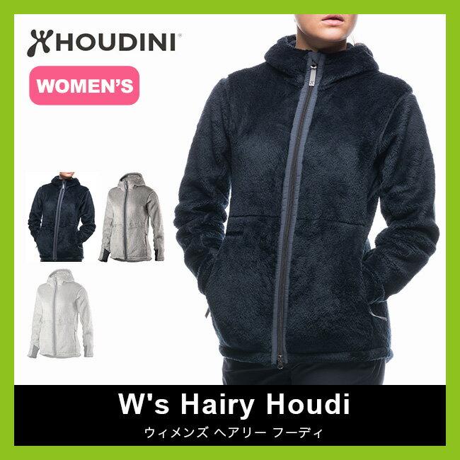 フーディニ ウィメンズ ヘアリー フーディ HOUDINI W's Hairy Houdi レディース【送料無料】フリース ミッドレイヤー クライミング スキー ジャケット アウター フーディーニ <2017FW>