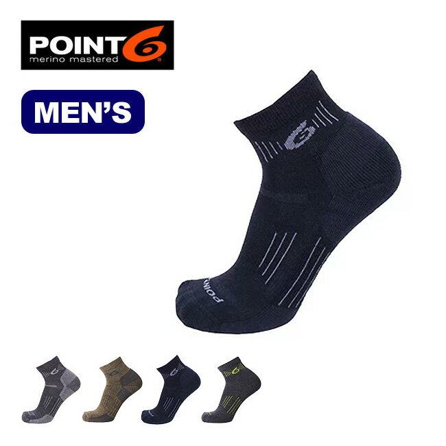 ポイントシックス ハイキングエッセンシャルライトミニクルー POINT6 Hiking Essential Lt Mini Crew メンズ 靴下 ソックス ハイキング トレッキング ポイント6 <2018 春夏>