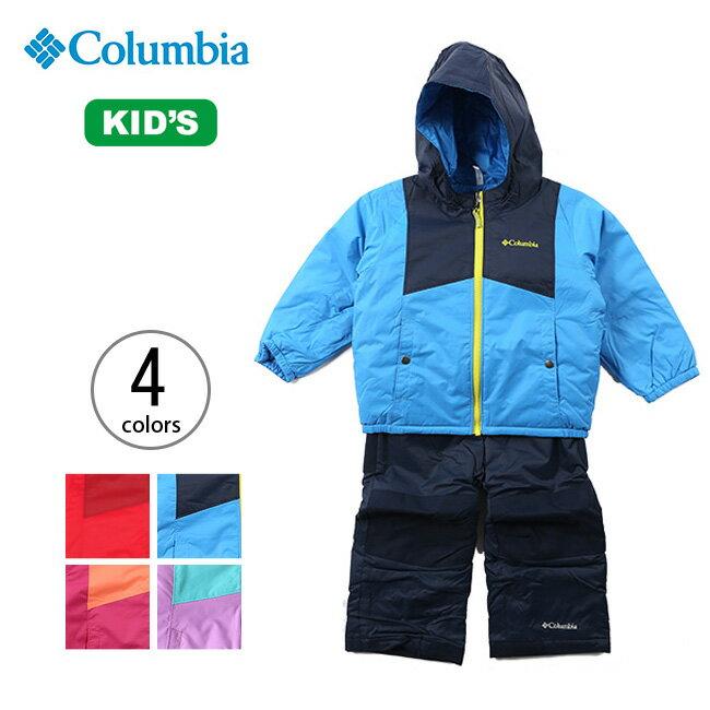 【30%OFF】コロンビア ダブルフレークセット Columbia Double Flake Set キッズ ベビー ジャケット アウター カバーオール スキー <2017FW>
