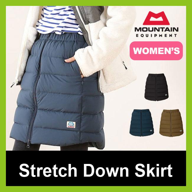 マウンテンイクイップメント 【ウィメンズ】ストレッチダウンスカート MOUNTAIN EQUIPMENT Stretch Down Skirt レディース 【送料無料】 スカート ボトム <2017FW>