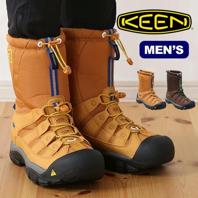 【45%OFF】KEEN キーン ウィンターポート2 メンズ【送料無料】スノーブーツ ウィンターブーツ 男性 レインブーツ 防水 防寒 アウトドア スキー スノーボード 雪山 長靴 Winterport II