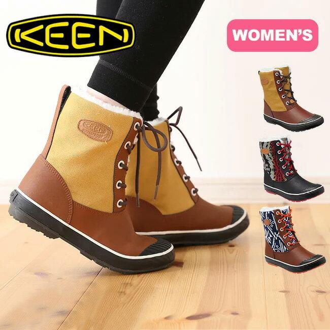 キーン エルサ ブーツ WP ウィメンズ【送料無料】KEEN Elsa Boot WP Womens スノーブーツ ウィンターブーツ ハーフブーツ ボア付き 防水 防寒 軽量 アウトドア 女性 レディース タウンユース カジュアル おしゃれ 12800