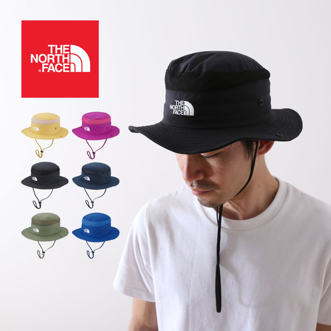 【10%OFF】ノースフェイス ブリマーハット THE NORTH FACE Brimmer Hat 帽子 ハット <2018 春夏>