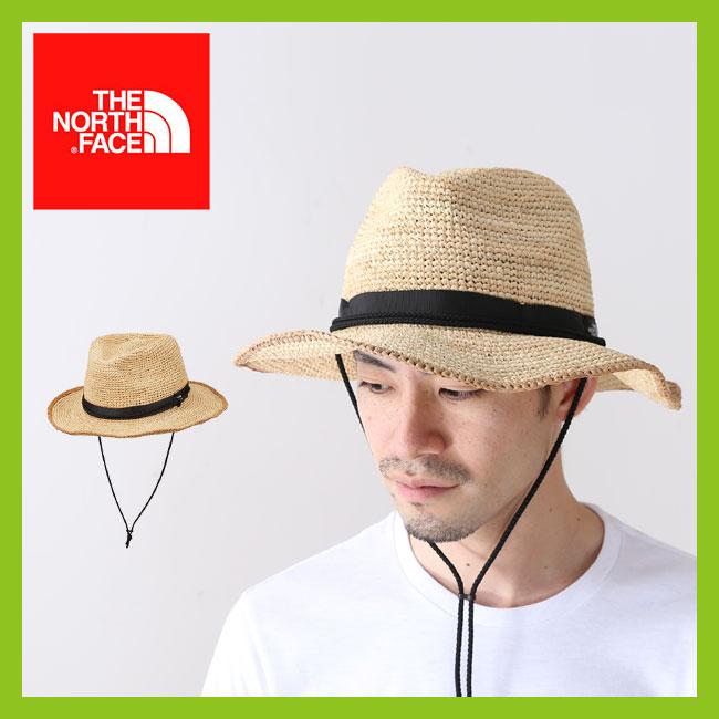 【15%OFF】ノースフェイス ラフィアハット THE NORTH FACE Raffia Hat 帽子 ハット <2018 春夏>