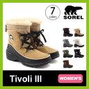 【20%OFF】ソレル ティボリ3【ウィメンズ】 SOREL Tivoli III レディース 【送料無料】 靴 ブーツ スノーブーツ ショ…