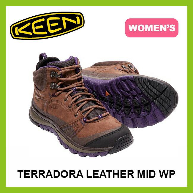 【20%OFF】 キーン テラドーラ レザーミッド ウォータープルーフ ウィメンズ KEEN WOMEN'S TERRADORA LEATHER MID WATERPROOF レディース 女性 【送料無料】 靴 シューズ トレッキングシューズ <2017FW>