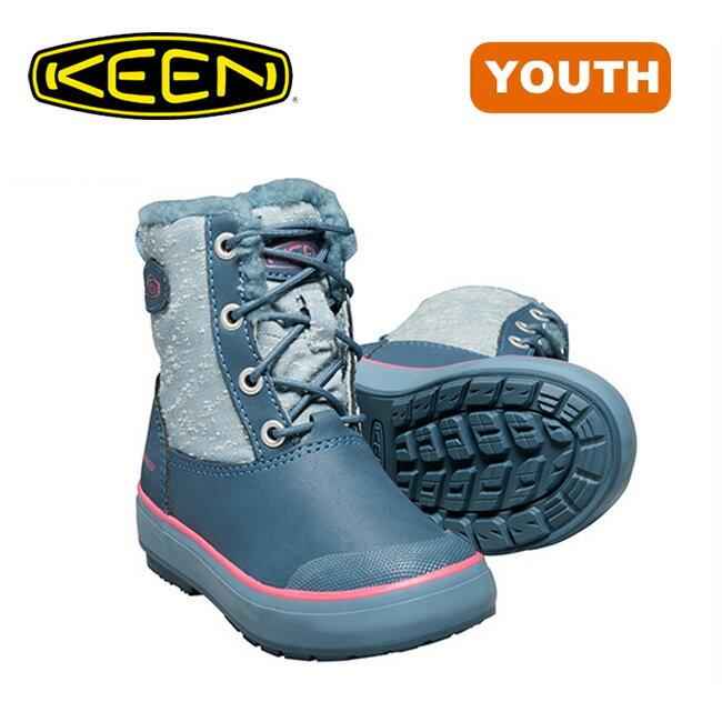 【30%OFF】キーン エルサLブーツ WP ユース KEEN Elsa L Boot WP 【送料無料】 子供用 ブーツ スノー 防水 キッズ 靴 <2017FW>