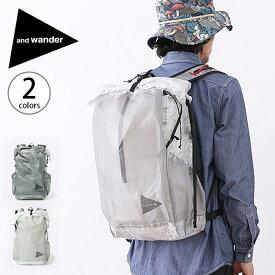 アンドワンダー キューベンファイバーバックパック and wander cuben fiber backpack 鞄 バックパック ザック リュックサック リュック ロールトップ AW-AA930 <2019 春夏>